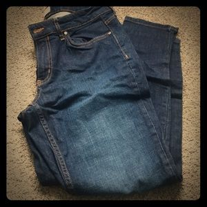 Calvin Klein Jeans, Ankle Skinny Jeans Size 12